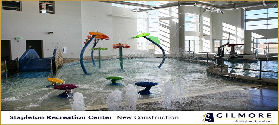 Time to play at Stapleton Central Recreation Center