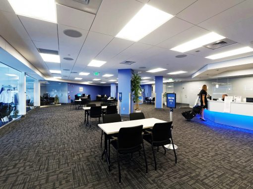 United Airlines | Concourse B Restack