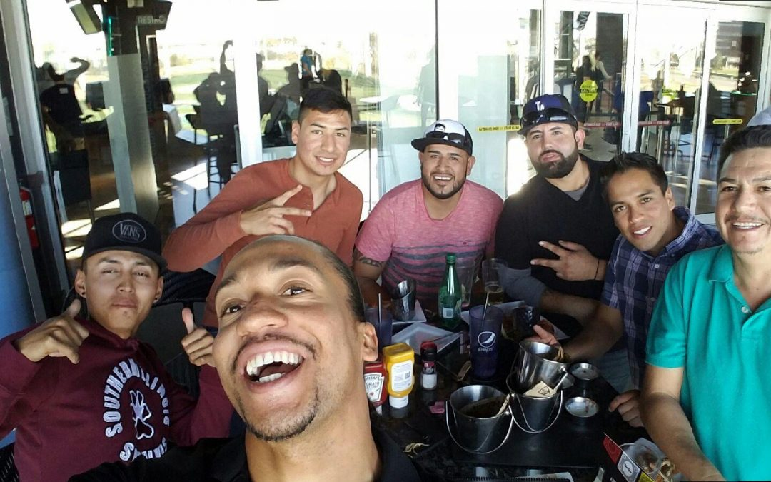 Fore(!) fun: Gilmore builds friendships, too