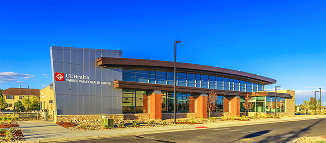 UCHealth |  Carbon Valley Medical Facility