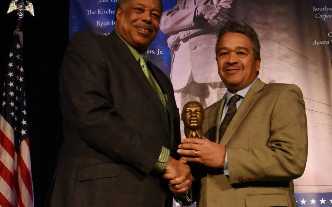 Jake Gilmore Jr Receives 2018 MLK Jr. Business Award