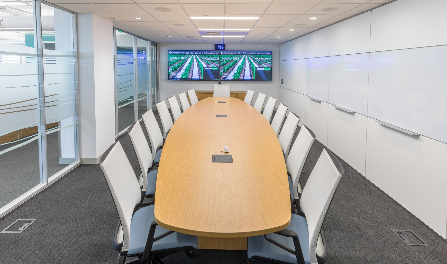 Conference Room with Modular Walls